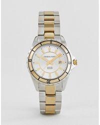 Dyrberg/Kern - Silver And Gold Watch - Lyst