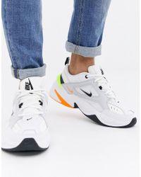 quality design 36276 3992f Nike - M2k Tekno Trainers In White Av4789-004 - Lyst