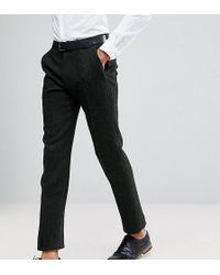 PLUS Slim Suit Trousers in Green - Green Asos RmOKsx