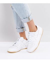 Nike - Dunk Low Essential Trainers In White - Lyst