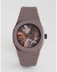 D1 Milano - Khaki Marble Watch - Lyst