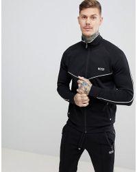 BOSS - Bodywear Track Jacket - Lyst