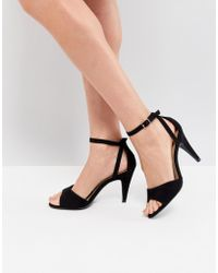 New Look - Heeled Strappy Sandal - Lyst