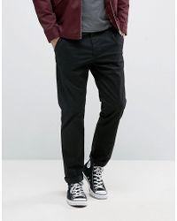 Jack & Jones - Intelligence Slim Fit Chino In Stretch Cotton - Lyst