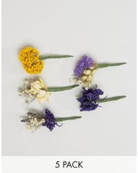 Rock N Rose - Rock N Rose Dried Flower Hair Pin Bundles - Lyst