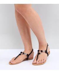 6c30d92877ef Park Lane Flatform Sandals in Black - Lyst