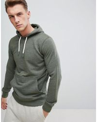 Esprit - Hoodie In Khaki With Chunky Drawcord - Lyst
