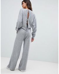 Micha Lounge - Relaxed Jumpsuit With Cut Out Back Detail - Lyst