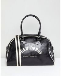 Fred Perry - Classic Grip Holdall Bag In Black - Lyst