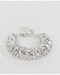 Krystal London - Swarovski Chunky Statement Bracelet - Lyst