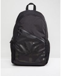 Timberland - Large Logo Backpack Ripstop In Black - Lyst