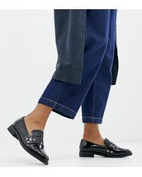 London Rebel - Wide Fit Clean Loafers - Lyst