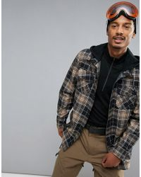Volcom - Field Bonded Flannel Jacket - Lyst