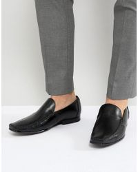 Ted Baker - Bly Leather Loafers - Lyst