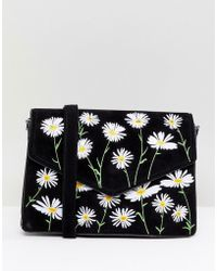 Skinnydip London - Rory Daisy Embroidered Cross Body Bag - Lyst
