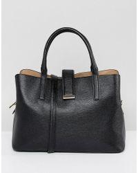 ASOS - Design Soft Pinch Lock Tote Bag - Lyst