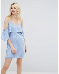 A State Of Being - Unknown Cold Shoulder Dress - Lyst