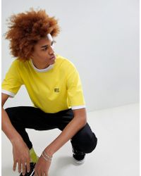 VFiles - Logo T-shirt In Yellow - Lyst