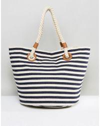 Oasis - Summer Shopper Stripe - Lyst