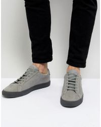 Kurt Geiger - Donnie Trainers In Grey - Lyst