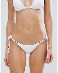 Minimale Animale - Tie Side Bikini Bottom - Lyst