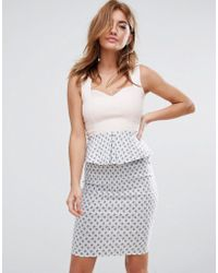 Vesper - Pephem Midi Dress - Lyst