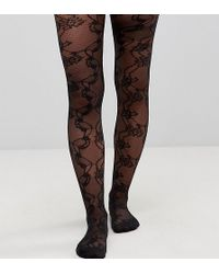 ASOS - Lace Mesh Tights - Lyst