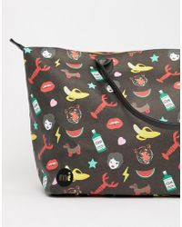 Mi-Pac - X Tatty Devine Iconic Print Gym Holdall - Lyst