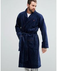 Ted Baker - Robe In Navy - Lyst