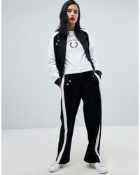 Fred Perry - X Bella Freud Colourblock Tracksuit Bottom - Lyst