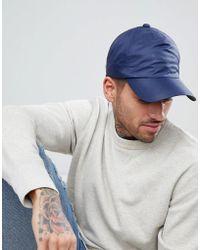 4e599fc76d Lyst - Bonnet à logo intarsia Emporio Armani pour homme en coloris Bleu