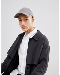 Esprit - Baseball Cap In Washed Grey - Lyst