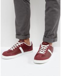 Lambretta Infinity Sneakers Burgundy - Red