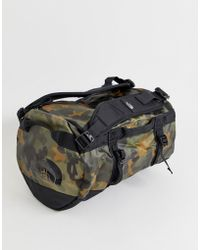 The North Face - Base Camp Duffel Bag Extra Small 31 Litres In Camo - Lyst