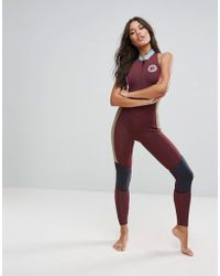 Billabong - Colour Block Salty Jane Full Length Wetsuit - Lyst
