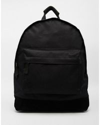 Mi-Pac - Classic Backpack In All Black - Lyst
