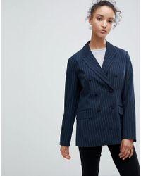 B.Young - Pin Stripe Blazer - Lyst