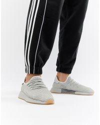 online retailer 67268 ba0ed adidas Originals - Deerupt Runner Sneakers In Gray Cq2628 - Lyst