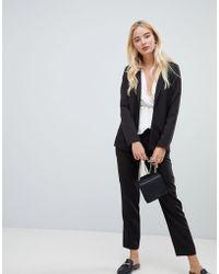 Fashion Union - Cigarette Trousers Co-ord - Lyst