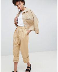 ASOS Drop Crotch Twill Pants