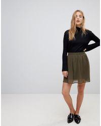 Vero Moda - Skater Skirt - Lyst