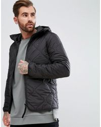 G-Star RAW - Edla Quilted Hooded Jacket - Lyst