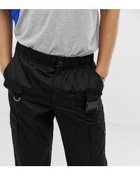 Collusion - Utility-Hose aus Nylon mit mehreren Taschen - Lyst
