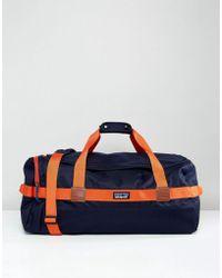 Patagonia - Arbor Duffel Bag 60l In Navy/red - Lyst