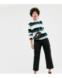 NA-KD - Pocket Detail Oversized Cargo Trousers In Black - Lyst