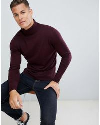 fd6534e6aa45bb Lyst - H&M Premium Cotton Jumper in Brown for Men