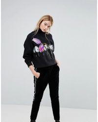 Sportmax Code - Adesso Tulip Sweatshirt - Lyst