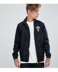 KTZ - Cleveland Cavaliers Track Jacket In Black Exclusive To Asos - Lyst