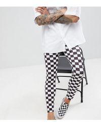 Reclaimed (vintage) - Revived Festival Checkerboard Legging - Lyst