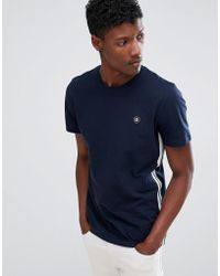 Jack & Jones - Core T-shirt With Side Tape And Chest Branding - Lyst